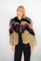 Fox Fur Jacket front